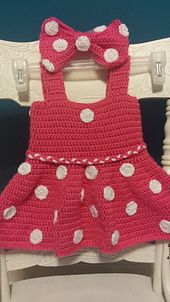 Minnie Mouse baby dress.  2T