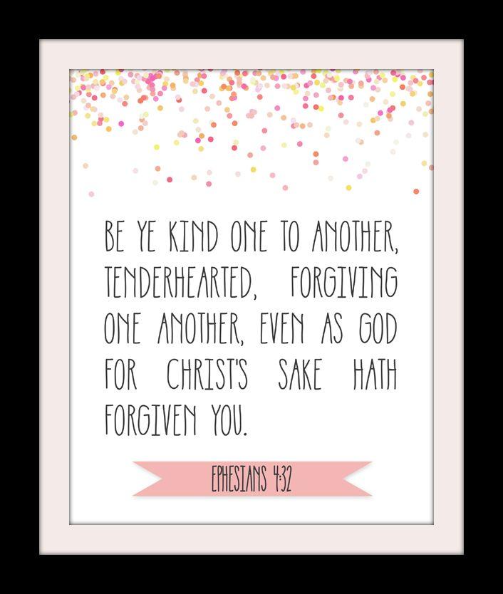Ephesians 4:32 Printable