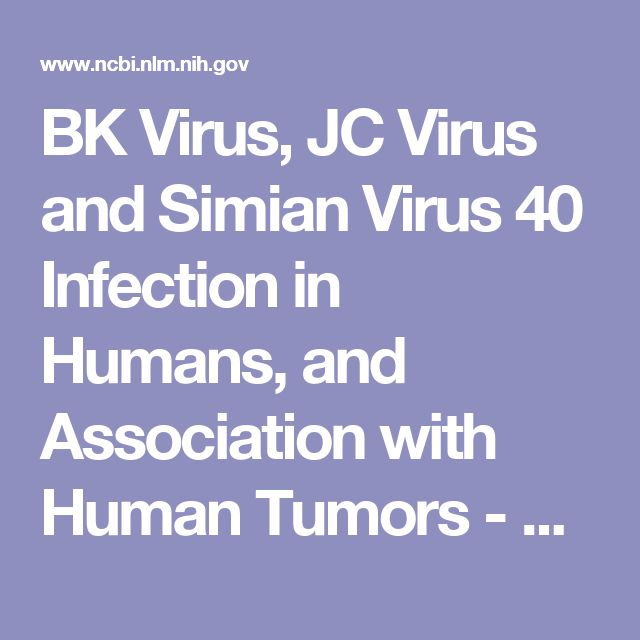 BK Virus, JC Virus and Simian Virus 40 Infection in Humans, and Association with Human Tumors - Madame Curie Bioscience Database - NCBI Bookshelf