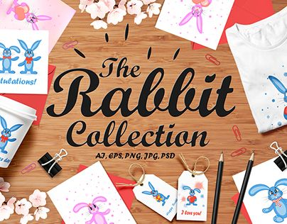"Check out new work on my @Behance portfolio: ""The Rabbit Collection!"" http://be.net/gallery/49796767/The-Rabbit-Collection"