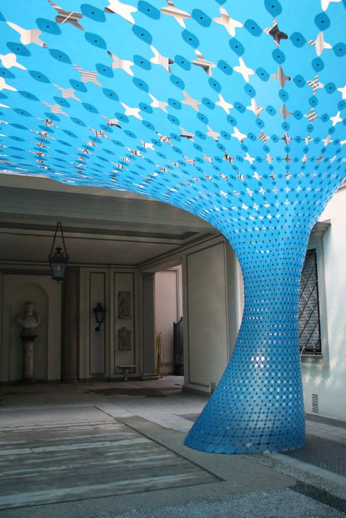 Christoph Klemmt's stunning vortex-shaped OR installation