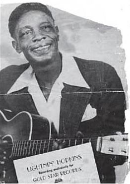 1980 ♦ Lightnin' Hopkins (1912 - 1982) - American country blues singer, songwriter, guitarist, and occasional pianist, from Houston, Texas.