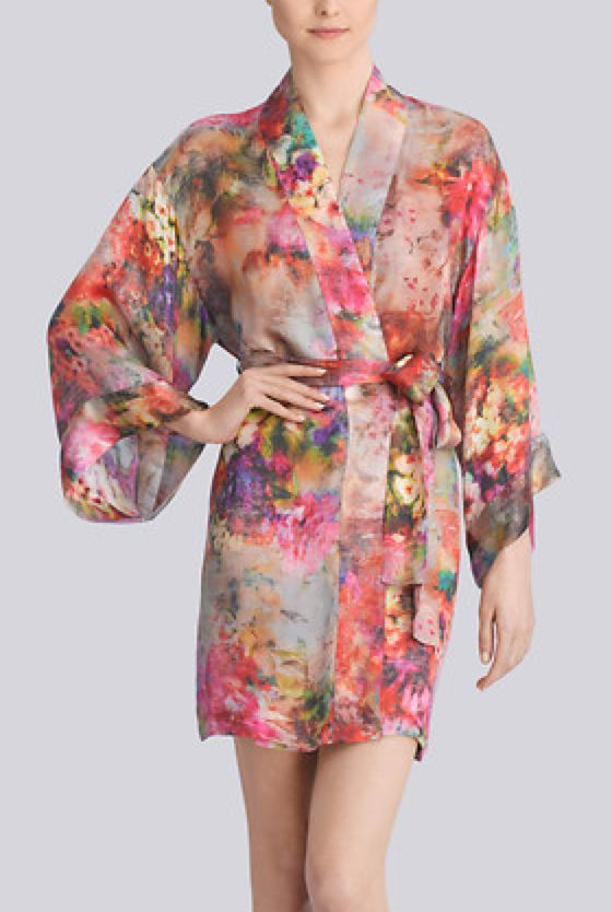 Lingerie of the Week: Josie Natori Whimsical Robe | The Lingerie Addict | Lingerie For Who You Are