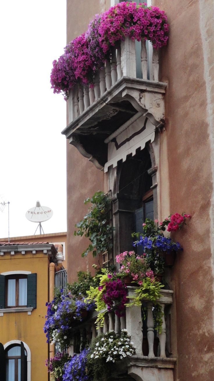 Flower Baskets For Balconies : Best balconies images on spain french