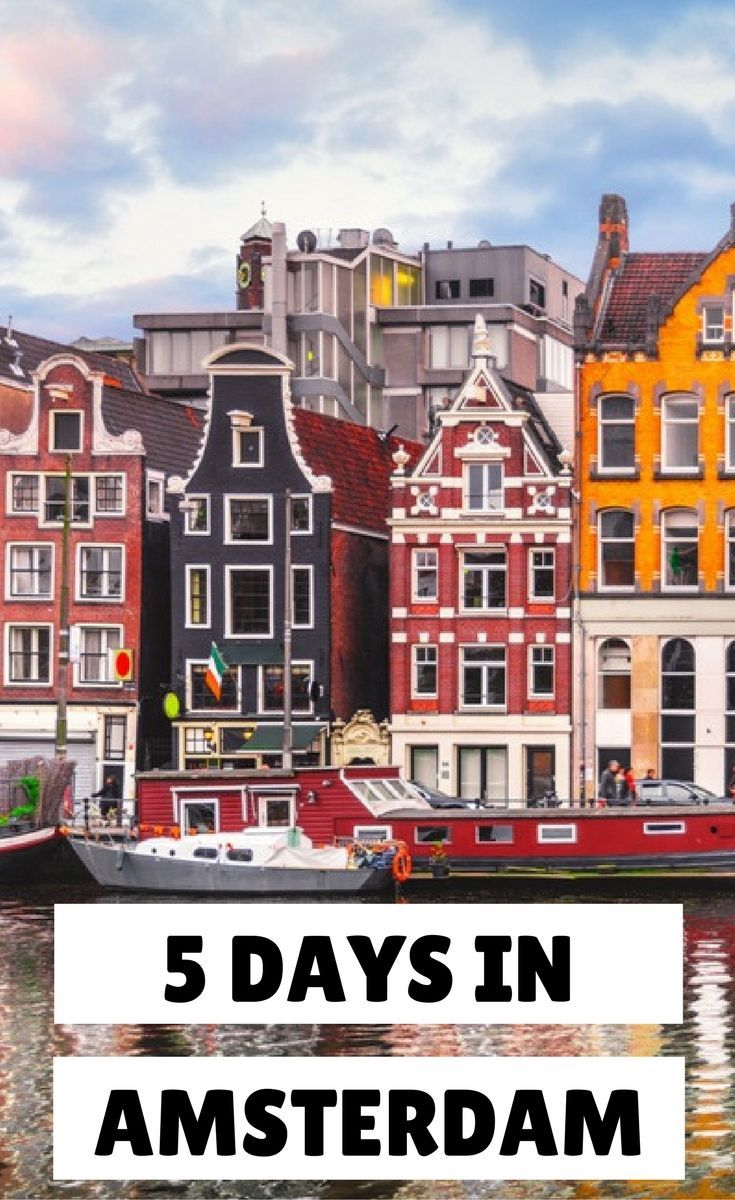 Planning a trip to Amsterdam? Find here the top things to do in Amsterdam in 5 days. A five day itinerary to Amsterdam for first time visitors.