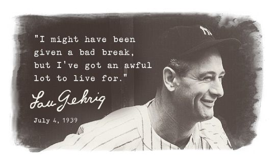 lou gehrig's disease - Google Search