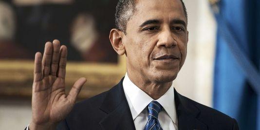 Barack Obama a prêté serment à la Maison Blanche, dimanche 20 janvier, et entame son second mandat. | REUTERS/POOL