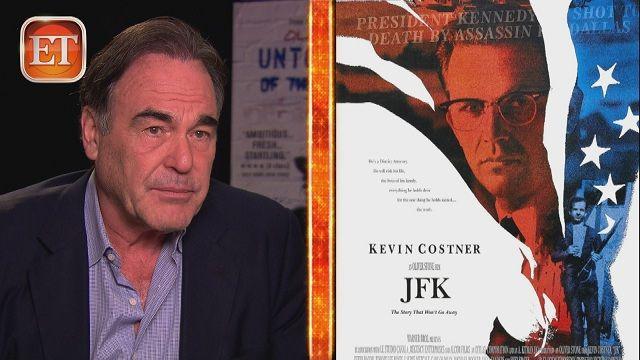 oliver stone kennedy mafia | Oliver Stone: 'JFK' Changed My Life 'Forever' | ETonline.com