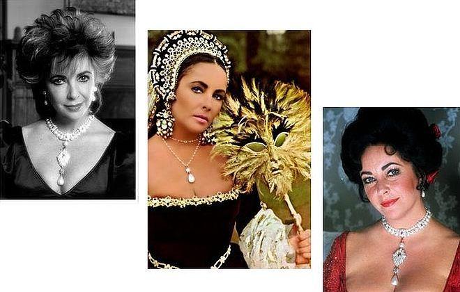 Elizabeth Taylor iperła La Peregrina