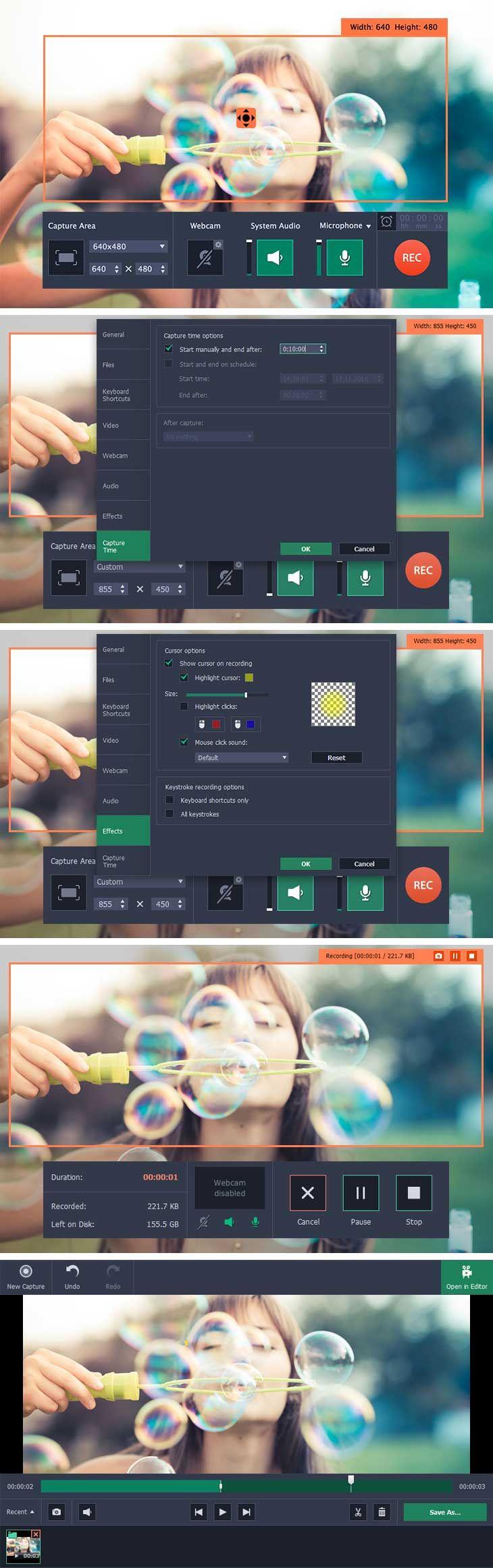 Movavi Screen Recorder 5.1.1 for Mac 破解版 – 多功能视频编辑软件 | Digit77.com | 海量精品Mac应用下载 | Wordpress主题商店