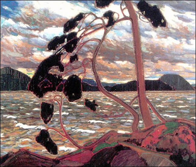 Tom Thomson -Group of Seven-The West Wind