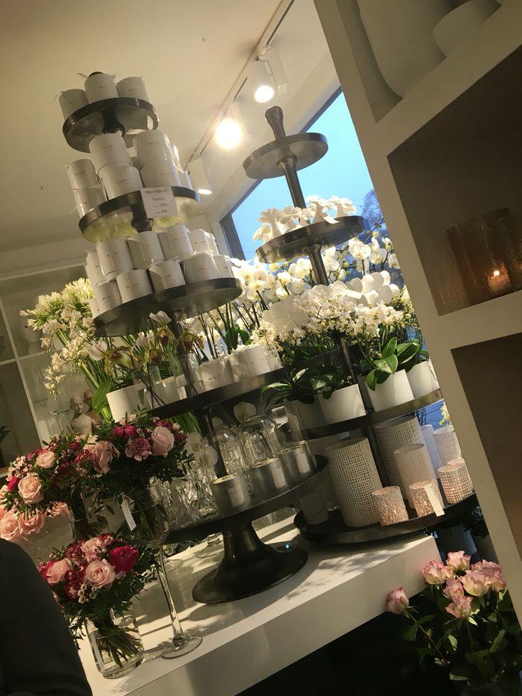 Duftlys og blomster