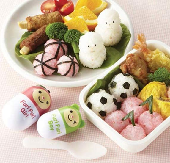 Mama's Assist Furi-Furi OMUSUBI Shaper $4.80 http://thingsfromjapan.net/mamas-assist-furi-furi-omusubi-shaper/ #cute bento item #kawaii onigiri maker #kawaii bento item
