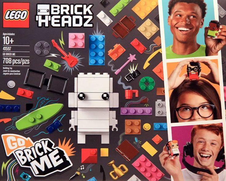 LEGO 41597 Go Brick Me : Toi, au format BrickHeadz: Quand on tient un concept, autant l'essorer jusqu'au bout. Après les BrickHeadz à… #LEGO