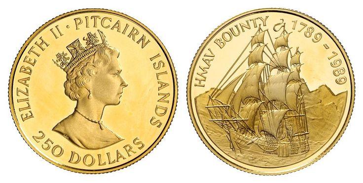 Pitcairn, $250, 1988.  The Bounty.