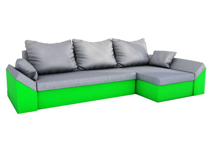 Die Couch hat zwei Behälter für §Bettwäsche und zweiseitigen Kissen. Das Ecksofa ist sehr leicht zu montieren als auch zu demontieren. Dank der einfache Bastelanleitung, braucht das komplette Zusammenfalten nur einige Minuten.