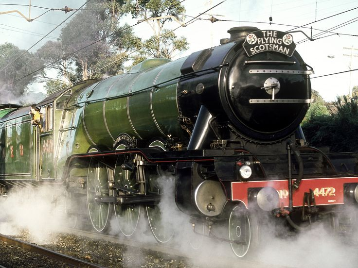 After 10 years of painstaking restoration, the world's most famous steam engine is back in business.