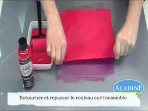 Teinture textile à froid Izink d'Aladine