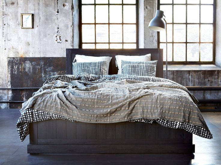 ikea fjell king bedframe ourhome purchases pinterest cow parsnip bedspreads and bed frames. Black Bedroom Furniture Sets. Home Design Ideas