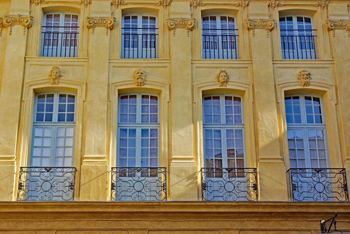 Aix-en-Provence is een mooie stad aan de Côte d'Azur in Frankrijk.