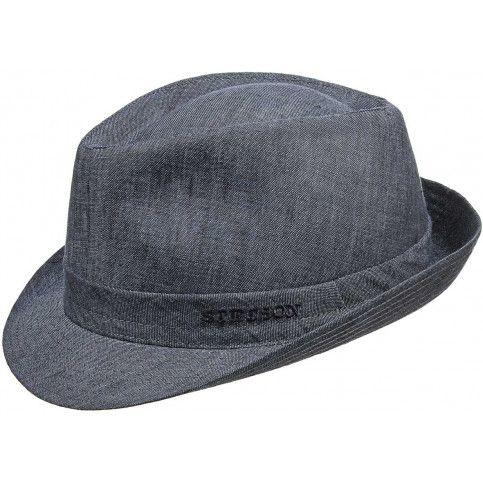 Schicker Denim Hut von Stetson, Gr. 58