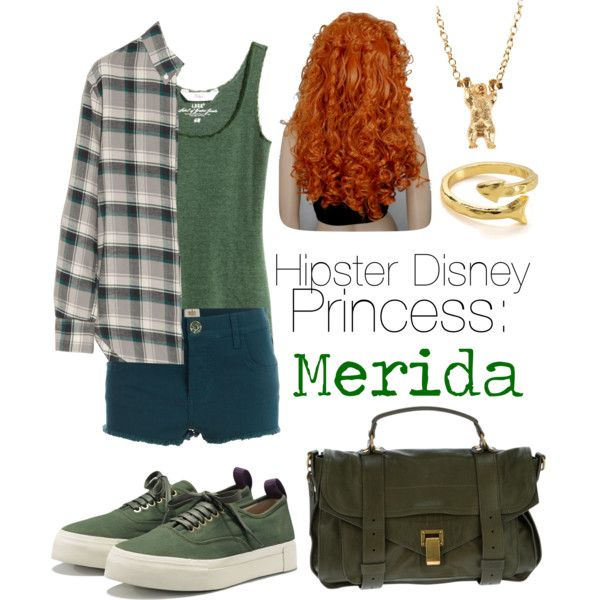 Hipster Disney princess: Merida (Meredith)