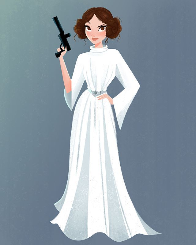 Princess Leia Fan Art I Can T Wait To See How She Will Be Used In