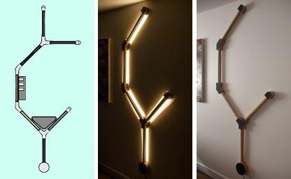 Willow & Stump Pith Modular Lamp