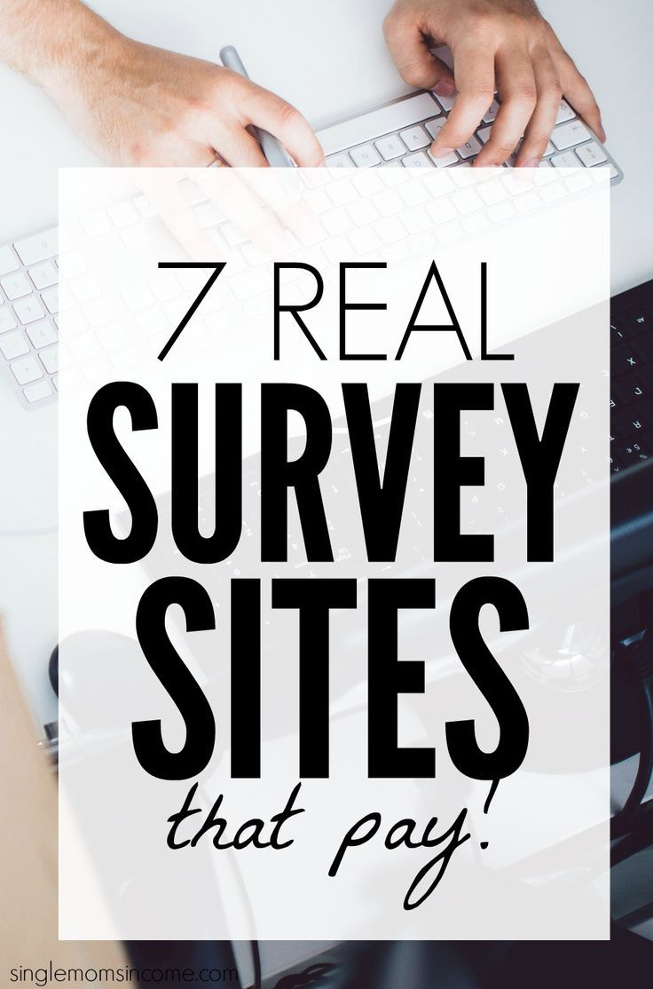 7 Real Survey Sites That Pay – job geld