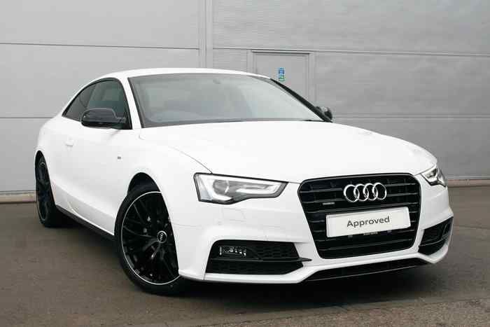 Ibis White Audi A5 Coupe