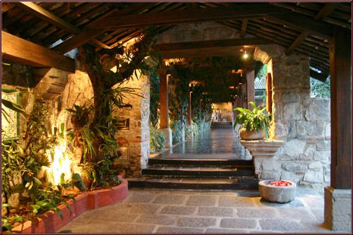 Also, I'd love to go back to this stunning place in Antigua, Guatemala.  The Casa Santo Domingo and stay a night or two there.  Maybe someday, I'll have enough money to do a mission and a couple luxury days kind of a trip.