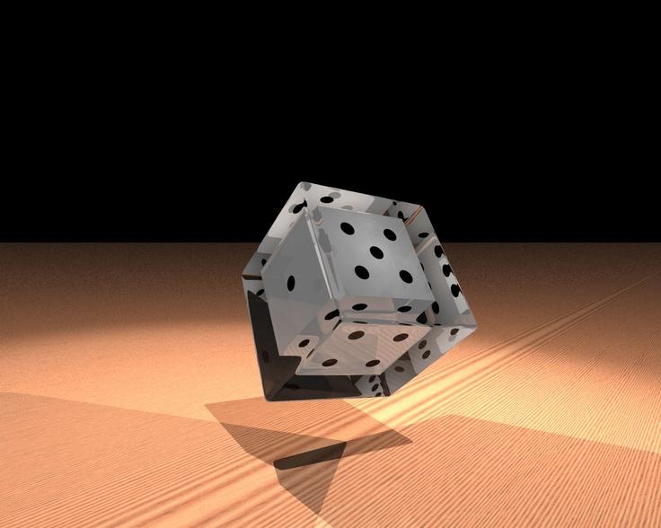 Primeros Pasos 5 A - POV-Ray 3D render