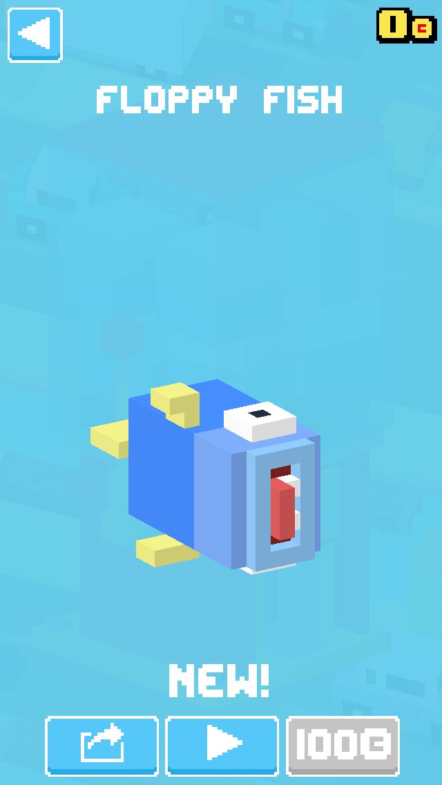 Floppy Fish Crossy Road