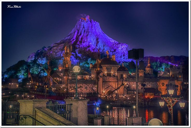 Mount Prometheus at Mysterious Island. Tokyo DisneySea
