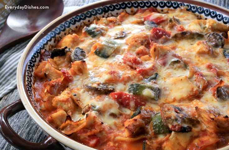Gooey melted cheese, juicy chicken and succulent veggies—you've just found your new favorite chicken casserole recipe!