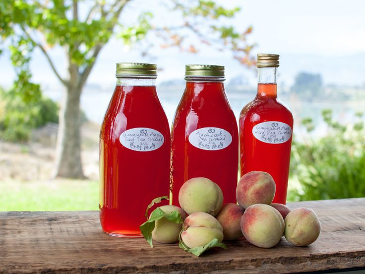 White Peach Iced Tea Cordial | Country Trading Blog