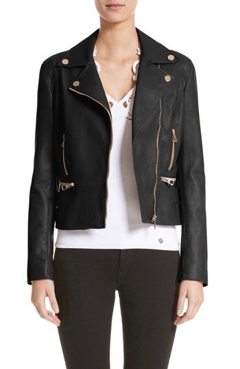 From our shop  Womens Versace Collection Nappa Leather Jacket Size 2 US    38 IT Black Now on sale   673.34 only! (was  1675) 6649b9ddd2