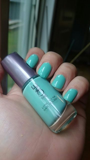 MY MIXED NAILPOLISH: Oriflame - mint zest
