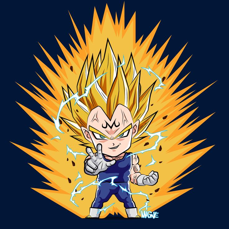Majin vegeta by Migne Huynh - Visit now for 3D Dragon Ball Z compression shirts now on sale! #dragonball #dbz #dragonballsuper