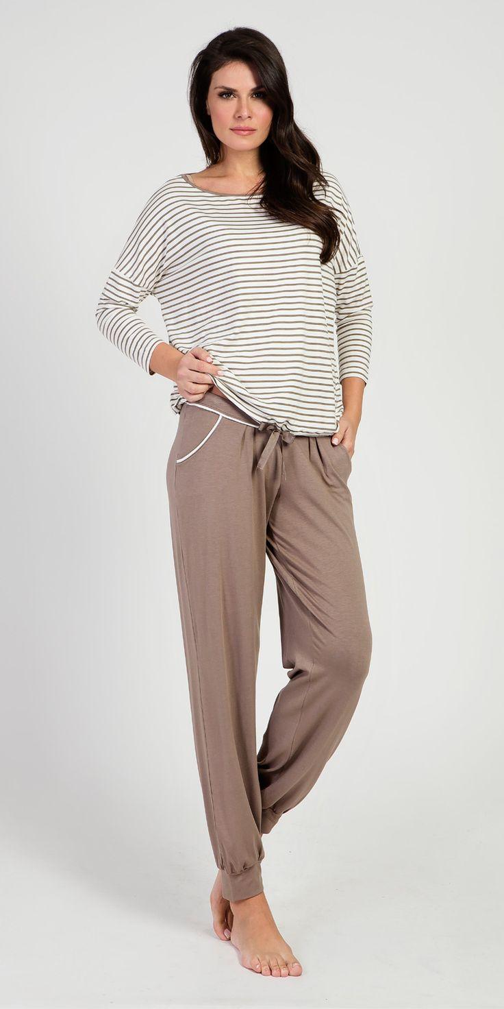 Loungewear Set 95% Viscose 5% Elastane | Loungewear| Vamp! Loungewear Set 95% Viscose 5% Elastane 5420-5422