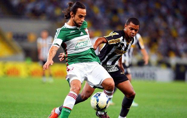 BotafogoDePrimeira: Briga direta: Palmeiras vence no Maracanã e afunda...