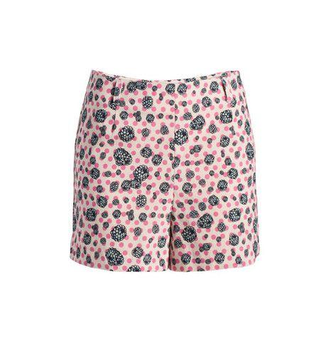High Waisted Shorts - Print