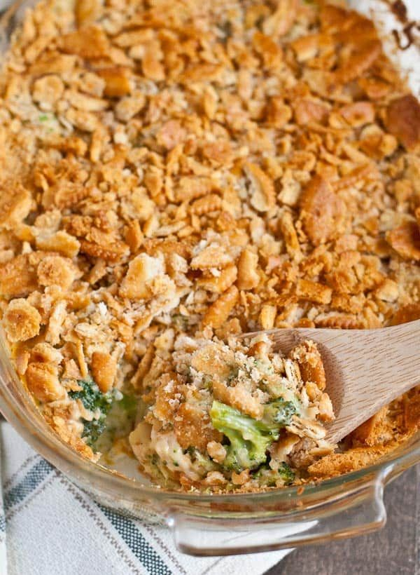 Ikea Küchenschrank Montageanleitung Roasted Broccoli Cheese Casserole With Ritz Topping