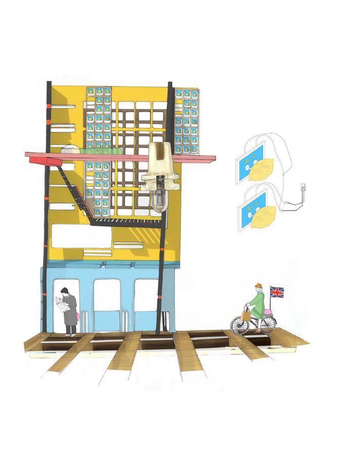 The London Farmhouse Residents - Catrina Stewart