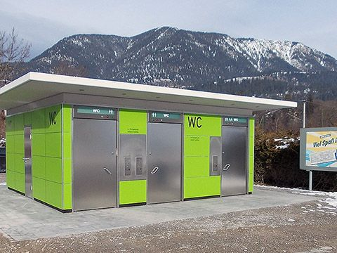 Automatic Public Toilet in Garmisch-Patenkirchen