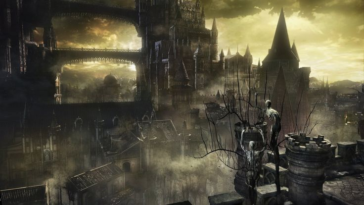 Dark Souls III, Dark Souls, Video Games, Castle, Fantasy Art, Concept Art Wallpaper