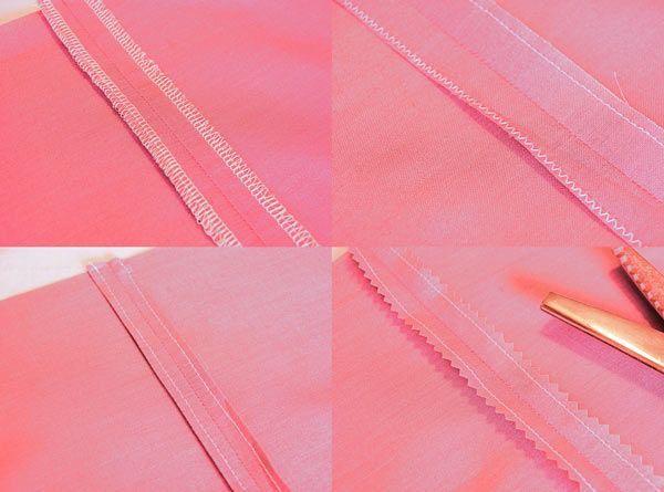 DIY Différentes finitions pour les coutures.  (http://www.petitcitron.com/blog/2015/07/8-methodes-finitions-coutures/)