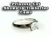 Camo Promise Engagement Ring