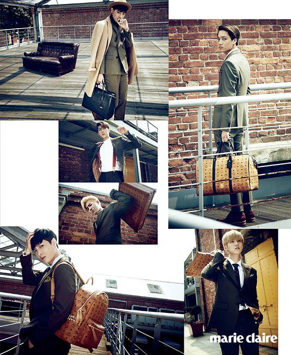 EXO Marie Claire Korea October 2014 Look 9