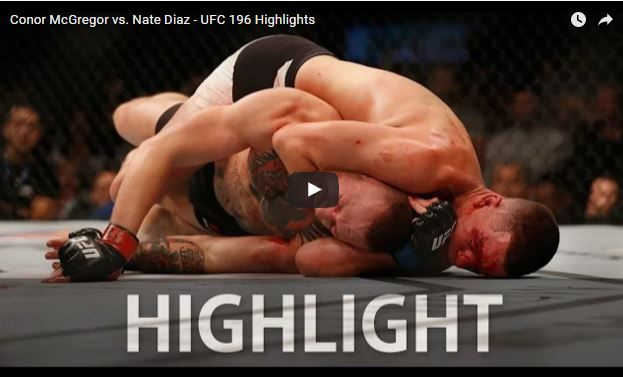 Mcgregor Vs Diaz Fight Choke Replay      https://youtu.be/ljvuqY0YGlU    Nate Diaz vs. Conor McGregor full fight movie highlights from UFC 196's main event above, politeness of FOX Sports just one.    UFC 196: McGregor compared to. Diaz occurre...